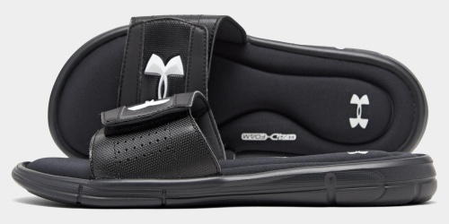 50% Off Under Armour Men's Slides + Free Shipping on DSW