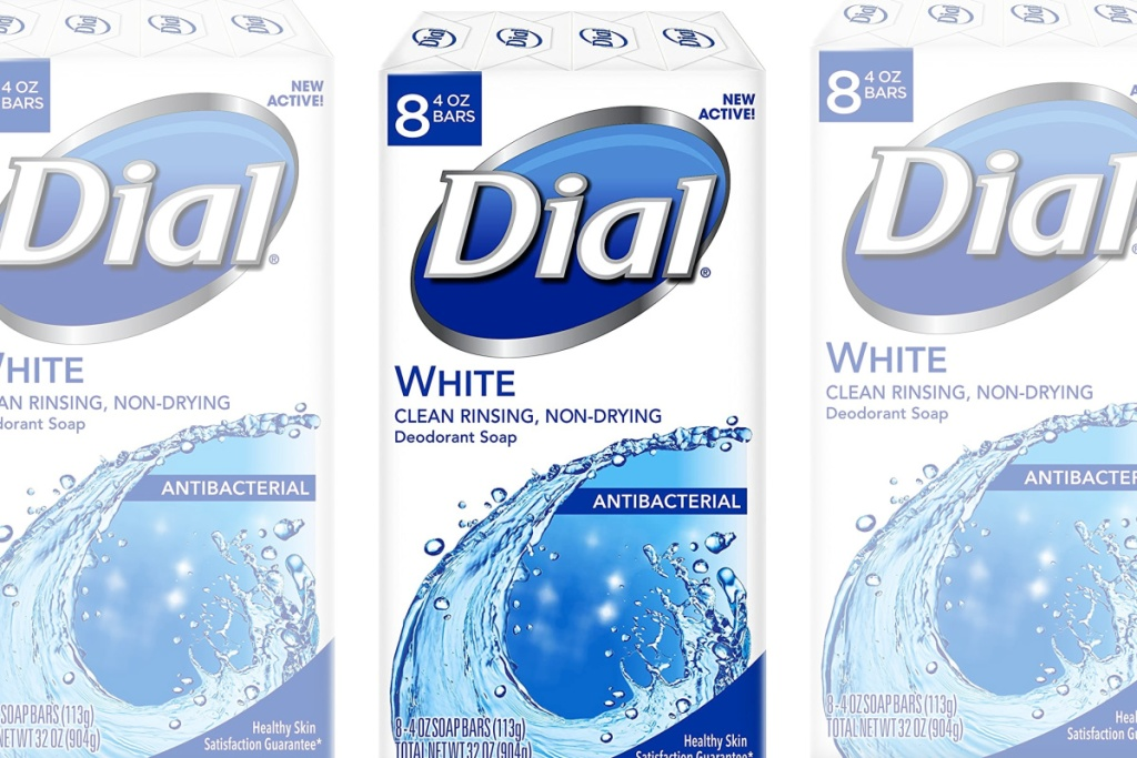 dial white bar soap 8-count