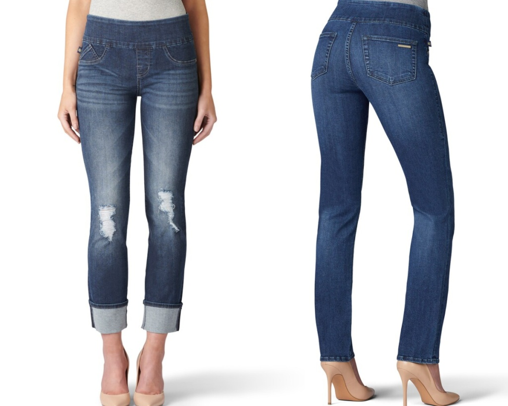 rock & republic straight leg jeans two pairs