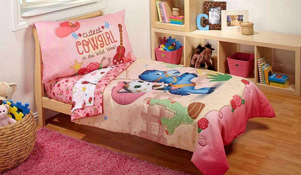 disney sheriff callie bedding in kids room
