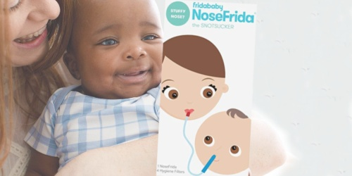 FridaBaby Nasal Aspirator + 24 Filters Only $17.65 on Amazon