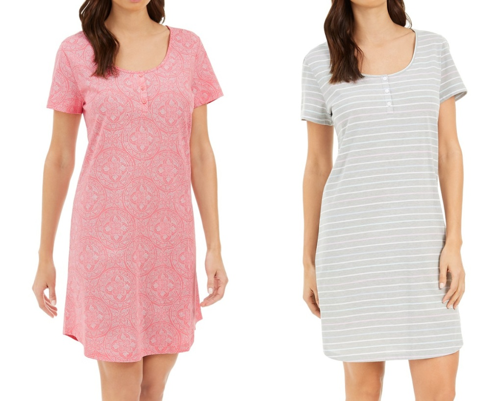 charter club womens nightgowns on two women