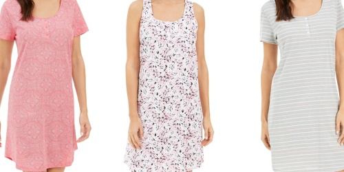 Women's Nightgowns Only $9.99 on Macy's (Regularly $30) | Various Styles Available