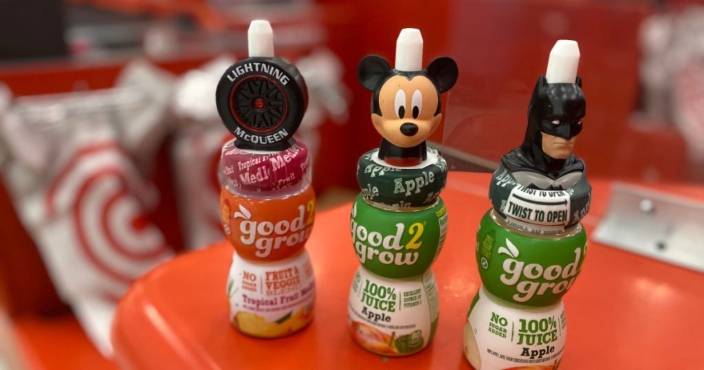 good2grow juice singles at target mickey mouse and batman