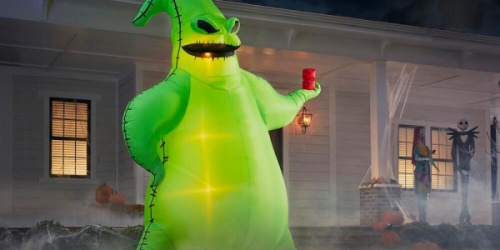 This 10.5-Foot Disney Oogie Boogie Inflatable is Now Available at Home Depot