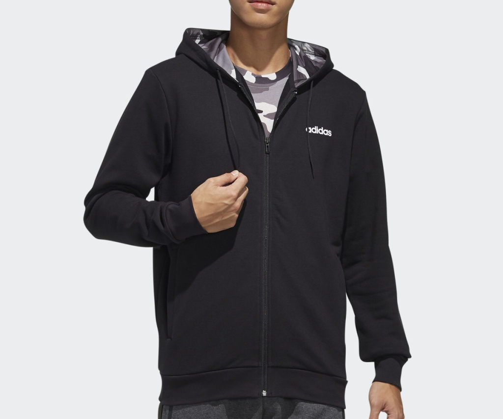 adidas jacket black jacket on guy