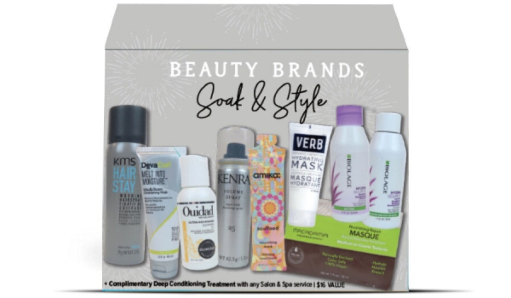 beauty brands soak and style discovery box