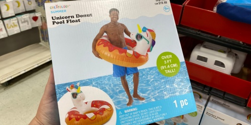 Up to 80% Off Pool Floats at Michaels | Unicorns, Rainbows & More