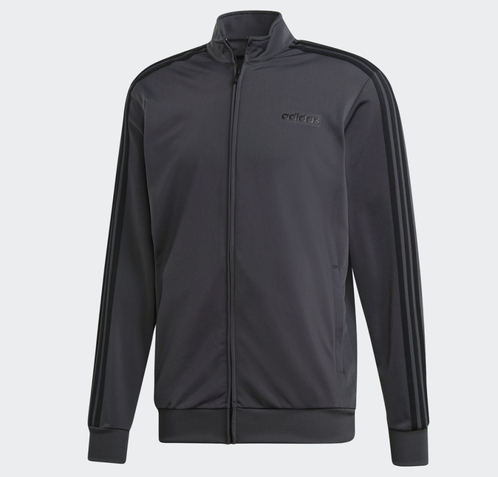 adidas tricot jacket black