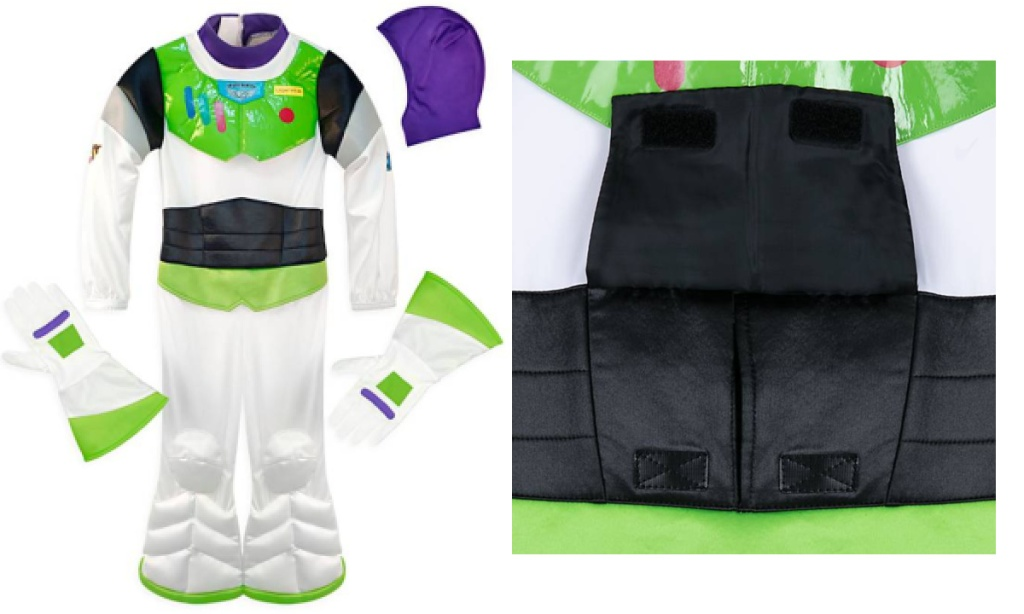 buzz lightyear adaptive costume with front opening