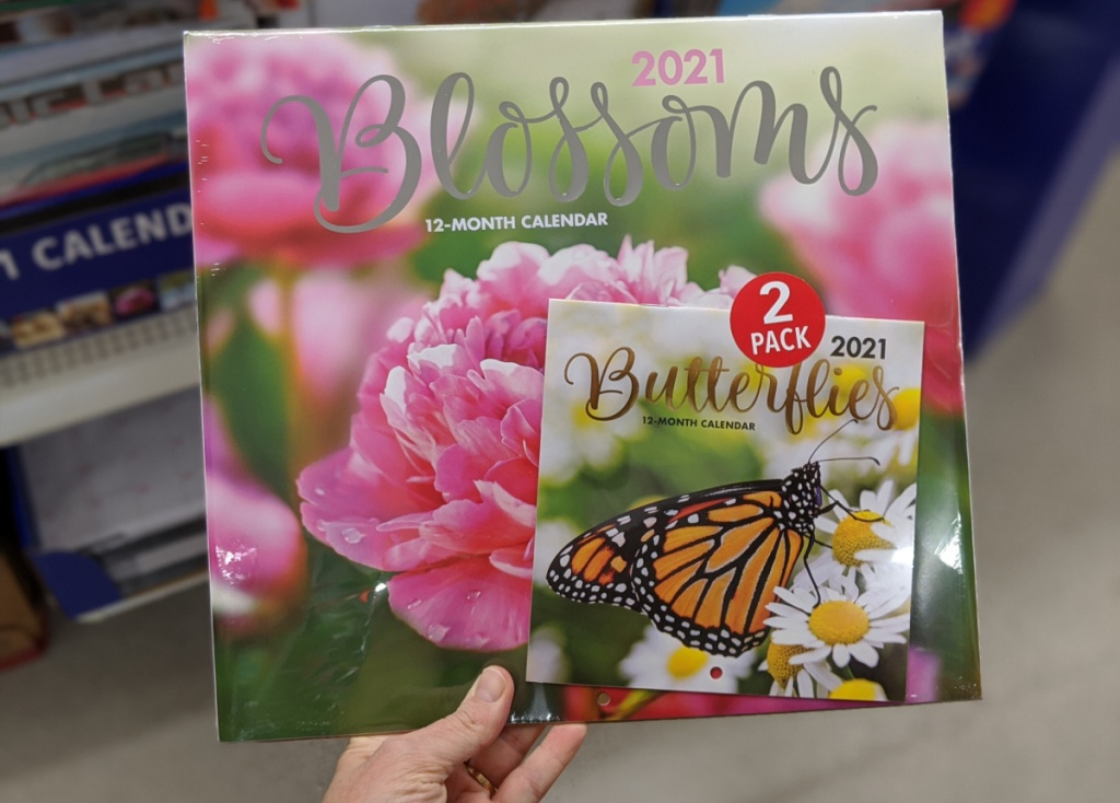 Monthly Planners Wall Calendars Just 1 At Dollar Tree Many Fun Styles A Couponer S Life