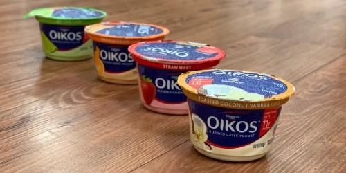 FREE Oikos Single Serve Yogurt Cup at Kroger