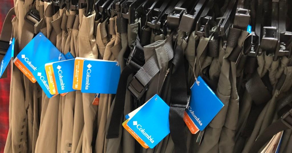 columbia apparel tags