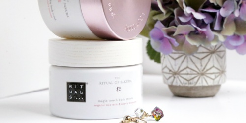 FREE Rituals of Sakura Body Cream Sample