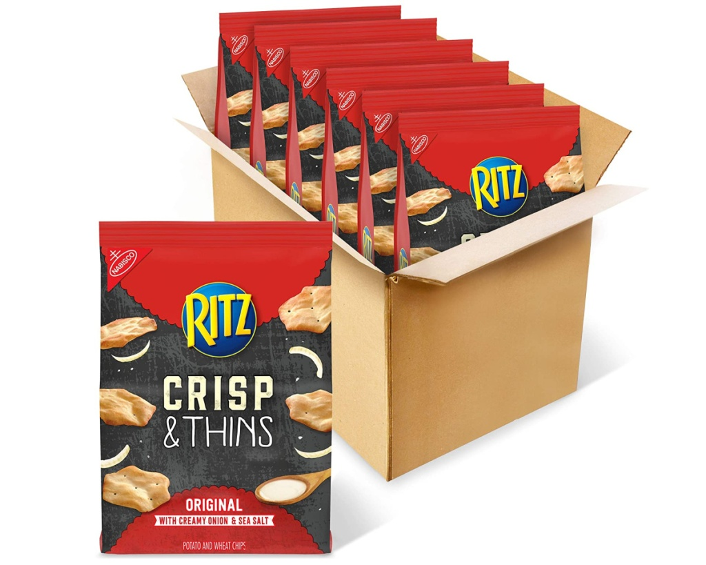 ritz crisp and thins 6 in box