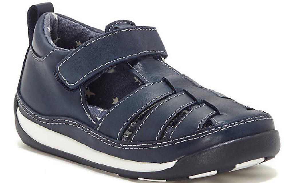 sole play kids sandal navy blue