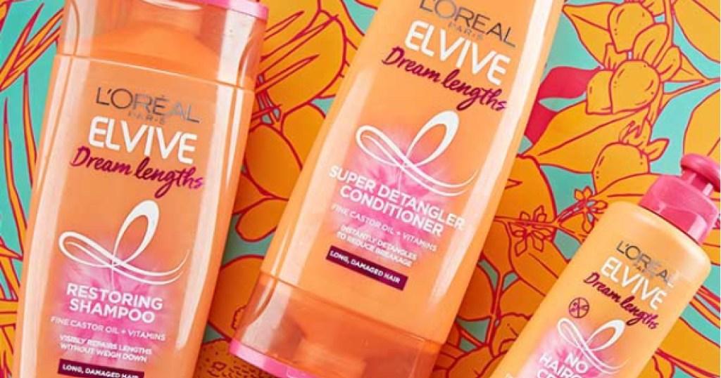loreal paris elvive dream lengths shampoo many