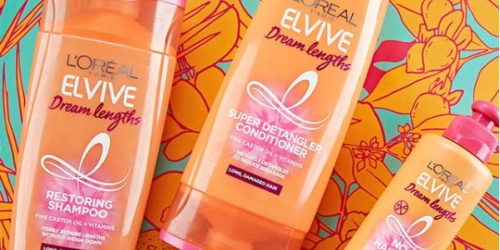 4 L'Oreal Elvive Hair Care Products Just $9 Shipped on Amazon | Only $2.32 Each