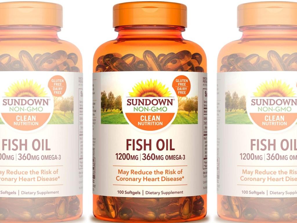 sundown fish oil side by side