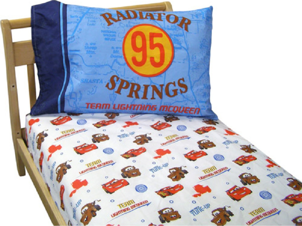 disney cars bedding fitted sheet and pillow