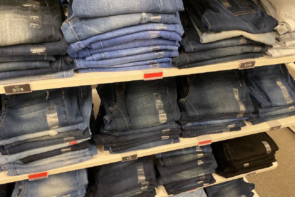 jeans at kohls in store