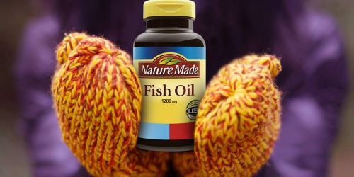 Nature Made Fish Oil Softgels 90-Count Only $3.95 Each Shipped on Amazon