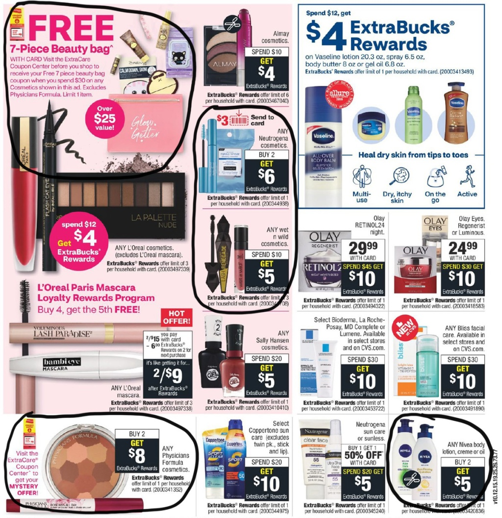 CVS weekly ad scan