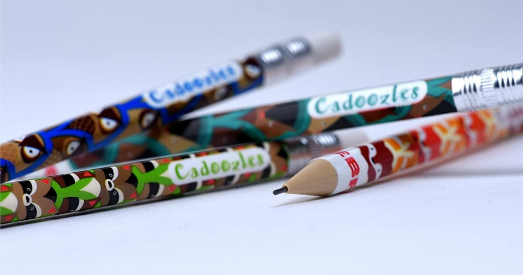 Cadoozles Mechanical Pencils stacked on top of each other messily