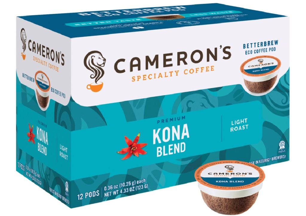 Cameron's 72-Count Breakfast Blend Coffee Single Serve Pods