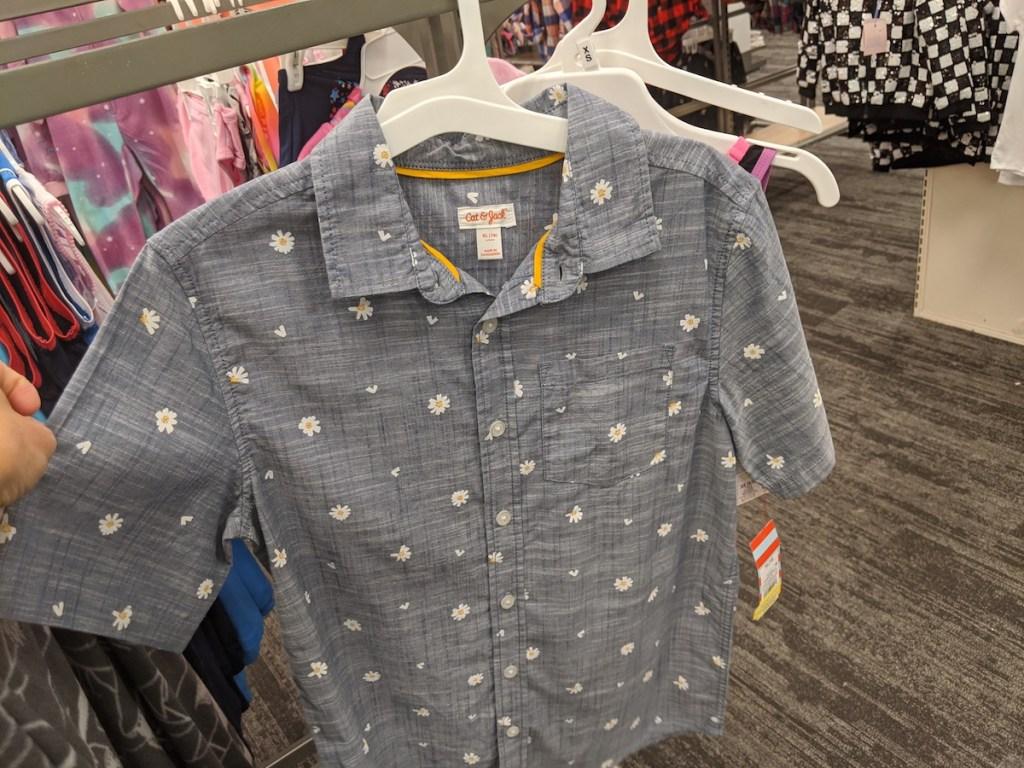 Cat & Jack Button-Down Shirt