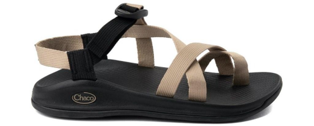 men's brown and khaki sport sandal