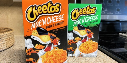New Cheetos Mac 'N Cheese Available Now at Walmart
