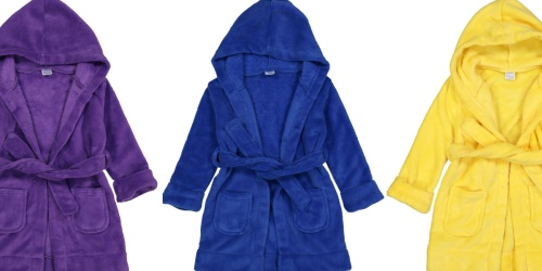 Kids Robes Only $11.99 on Zulily (Regularly $30+) | Over 65 Colors & Styles