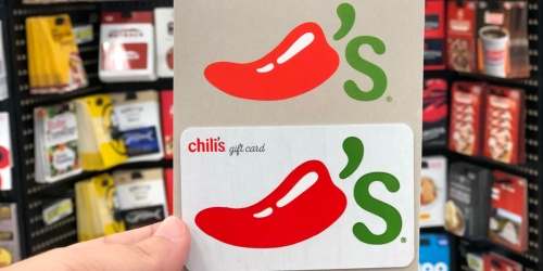 $20 Worth of Bonus eGift Cards w/ $50 Chili's Gift Card Purchase