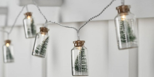 These Popular Christmas Tree Glass Jar String Lights are as Low as $16 Shipped & May Sell Out
