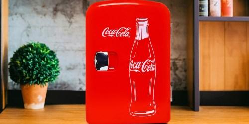 Classic Coca-Cola 6-Can Mini Fridge Only $25 on Walmart.com (Regularly $34)