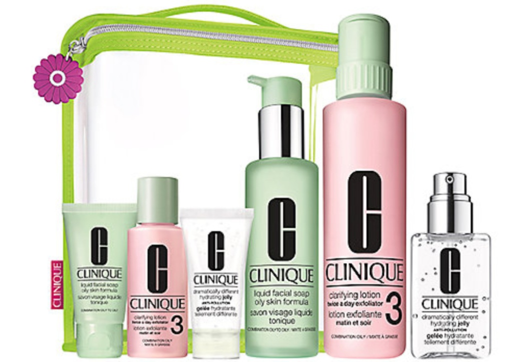 Clinique Great Skin Everywhere Dramatically Different Hydrating Jelly Set Free Gift Set