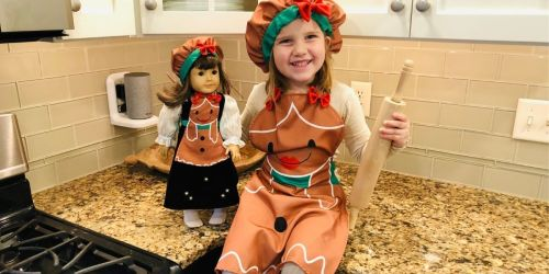 Club Eimmie Holiday Pack Only $12.99 Shipped | Includes Matching Apron Set for Kids & 18″ Dolls