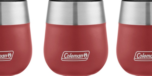 Coleman Insulated Stainless Steel Wine Glass Only $6.75 on Walmart.com (Regularly $15)