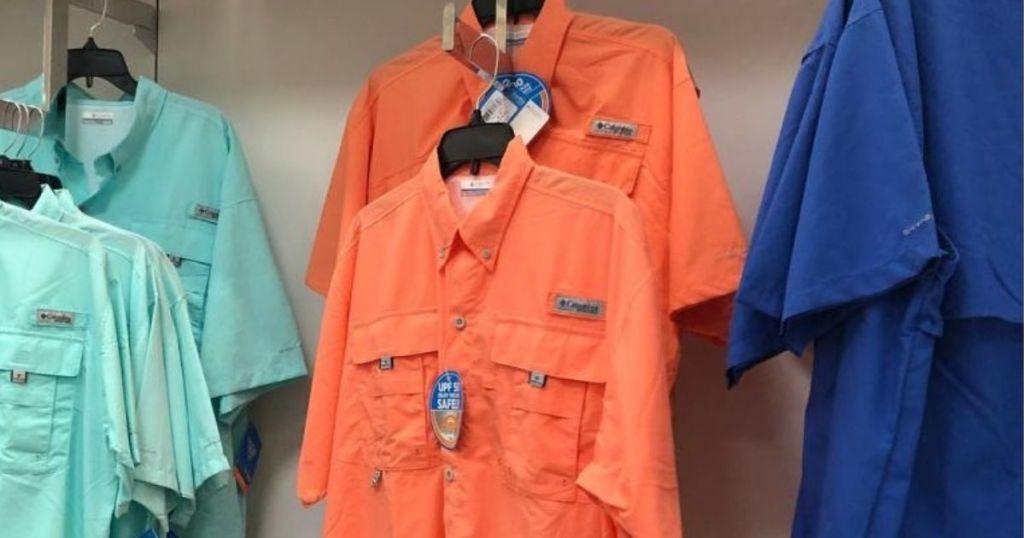 Columbia Men's Shirts