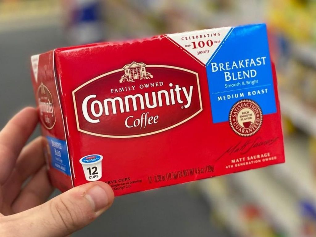 Community Coffee k-cups