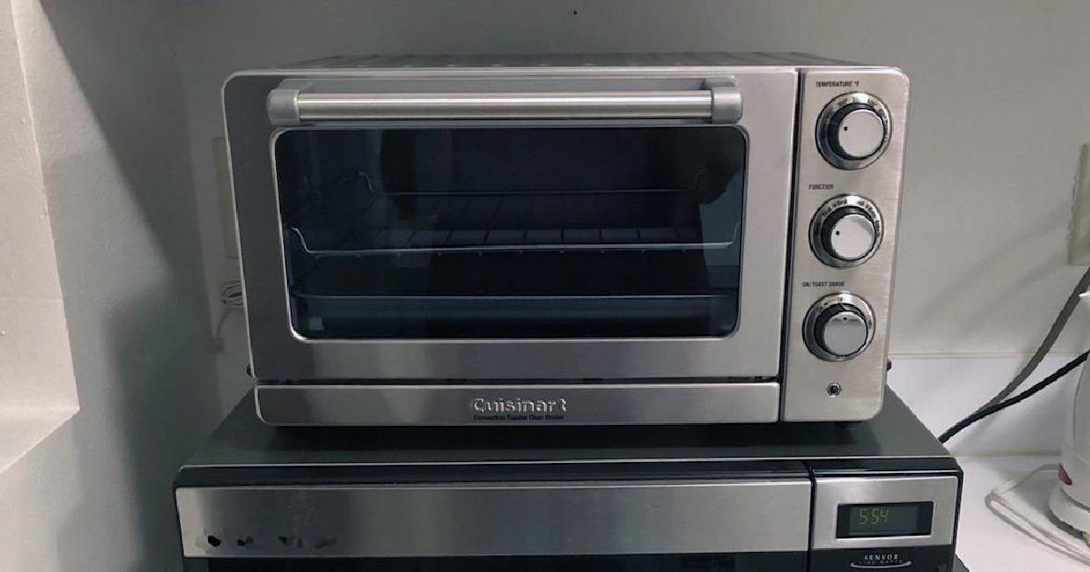 Cuisinart Toaster Oven in kitchen