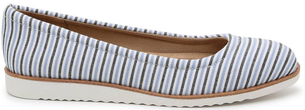 women's stripe slip on shoe