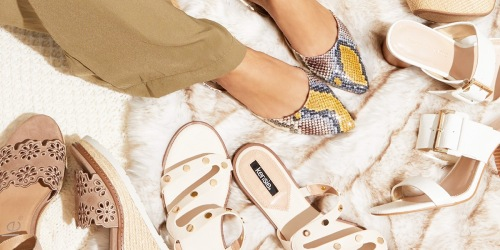 Women's Shoes Just $14.99 Shipped on DSW   Steve Madden, Lucky Brand & More