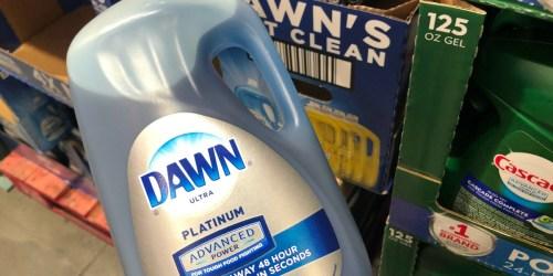 Dawn Platinum Liquid Dish Soap 90oz Only $7.88 for Sam's Club Members