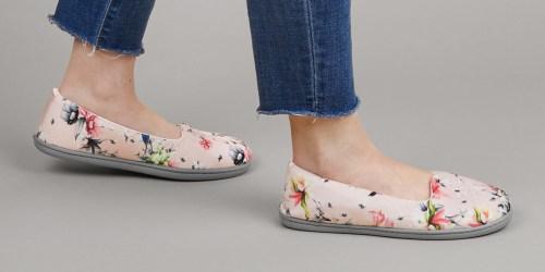 Dearfoams Women's Rebecca Velour Slippers Only $14.99 Shipped (Regularly $26)