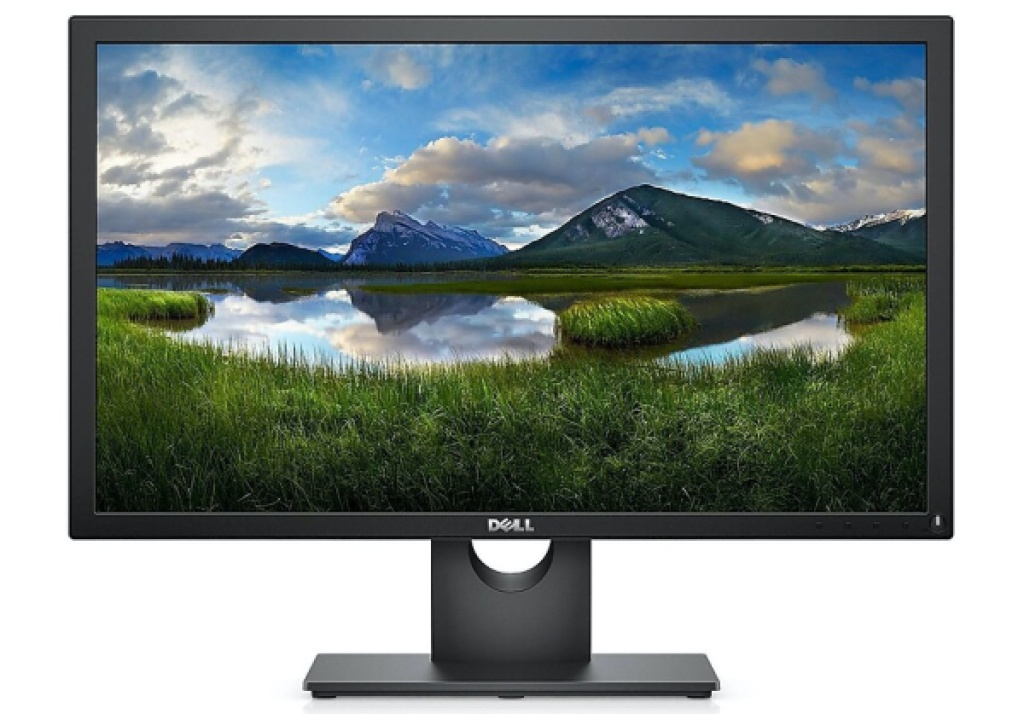 black computer monitor