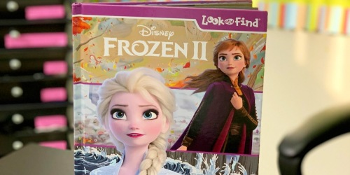 Disney Frozen 2 Look and Find Activity Book Just $5 on Amazon (Regularly $11)