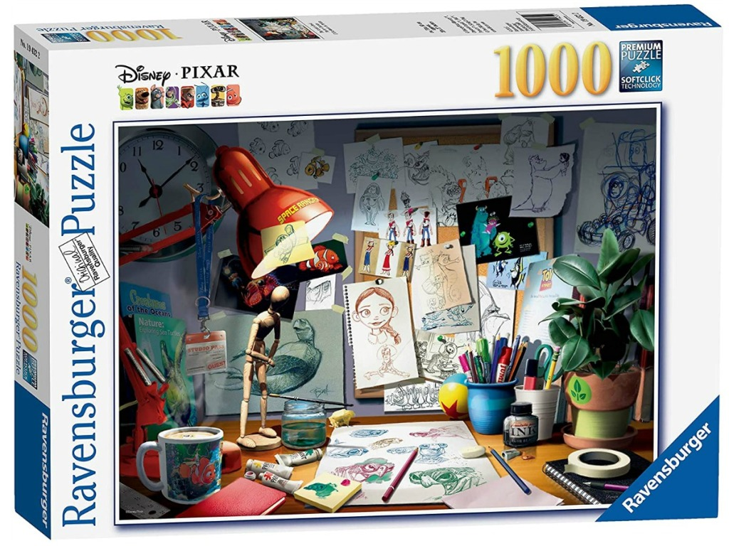 Disney Pixar themed jigsaw puzzle in package