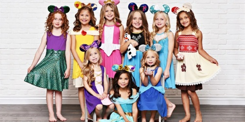 Disney Princess & Superhero Inspired Dresses Only $16.98 Each Shipped